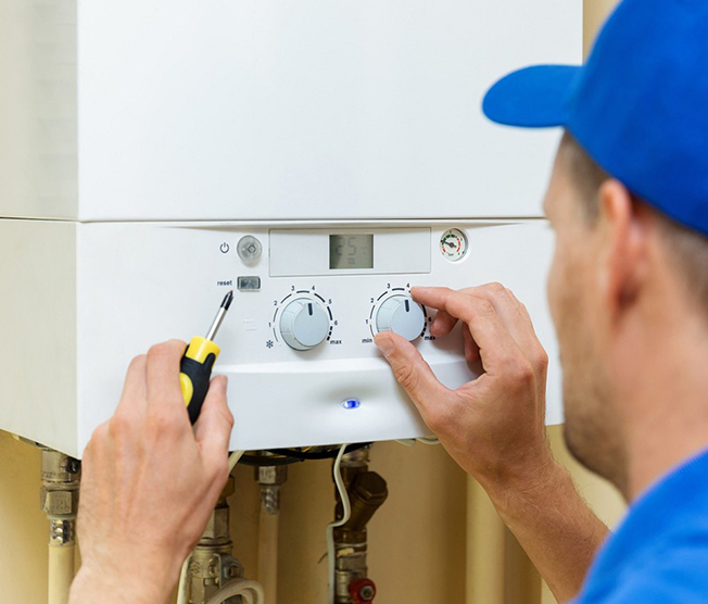 gas boiler service
