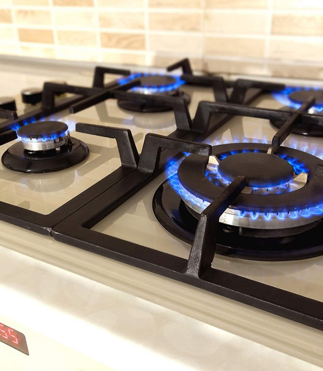 gas cookers hob installations
